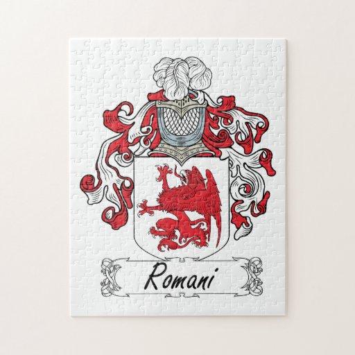 Escudo Romani de la familia Rompecabezas Con Fotos