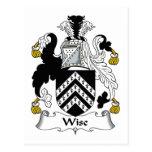 Escudo sabio de la familia postal