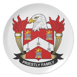 Escudo sacerdotal de la familia plato