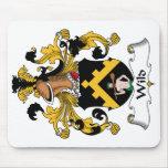 Escudo salvaje de la familia alfombrillas de raton