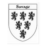 Escudo salvaje del escudo de armas/de la familia