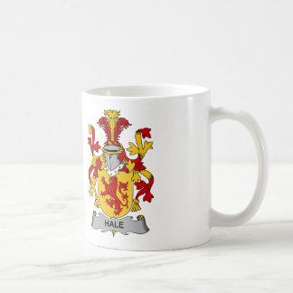 Escudo sano de la familia taza de café