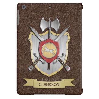 Escudo Sigil Brown de la batalla del lobo Funda Para iPad Air