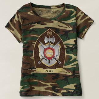 Escudo Sigil Brown de la heráldica del lobo Camisas