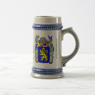 Escudo Stein de la familia de Evans Jarra De Cerveza