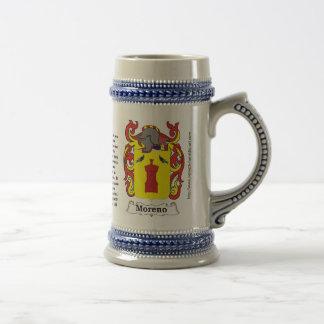Escudo Stein de la familia de Moreno Jarra De Cerveza