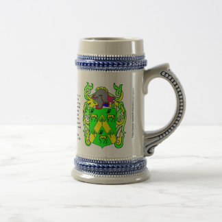 Escudo Stein de la familia de Robinson Taza De Café