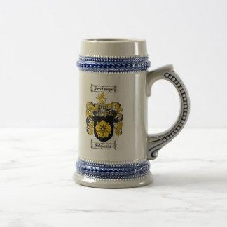 Escudo Stein de la familia de Schwartz Tazas De Café