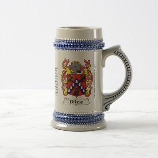 Escudo Stein de la familia del arroz Tazas