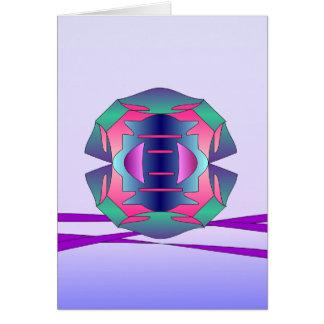 escudo tarjeta de felicitación