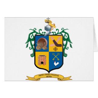 Escudo Tlaquepaque Jalisco, Mexico Card