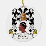 Escudo trigueno de la familia ornamentos de reyes
