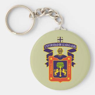 Escudo UdeG, Mexico Keychain