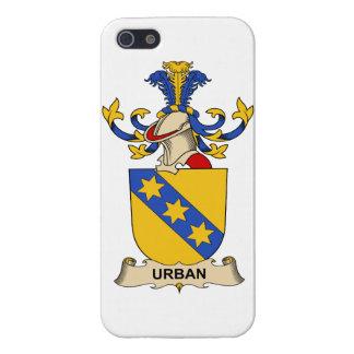 Escudo urbano de la familia iPhone 5 fundas