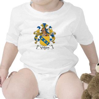 Escudo urbano de la familia trajes de bebé