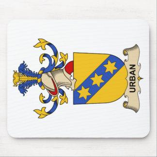 Escudo urbano de la familia alfombrilla de ratón