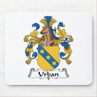 Escudo urbano de la familia alfombrillas de raton