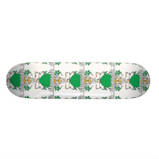 Escudo vidente de la familia skate board
