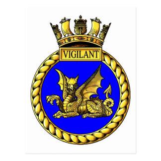 Escudo vigilante del HMS Postales