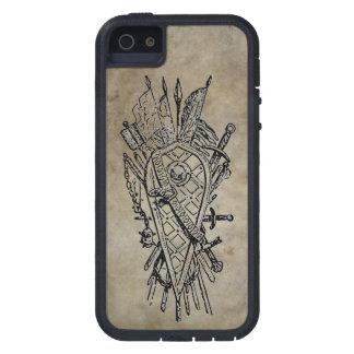 Escudo y espada iPhone 5 coberturas