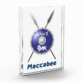 Escudo y lanzas de Maccabee