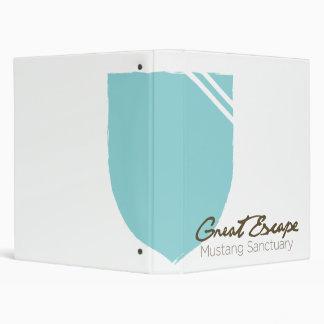 """Escudo y logotipo del santuario del mustango de carpeta 1"""""""