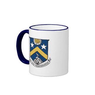 Escudo y taza del logotipo