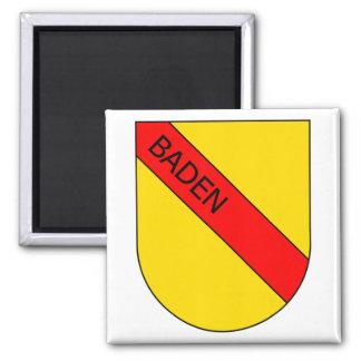 Escudos de armas de Baden con escritura Imán De Nevera