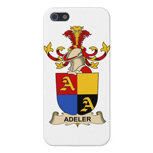 Escudos de la familia de Adeler iPhone 5 Fundas