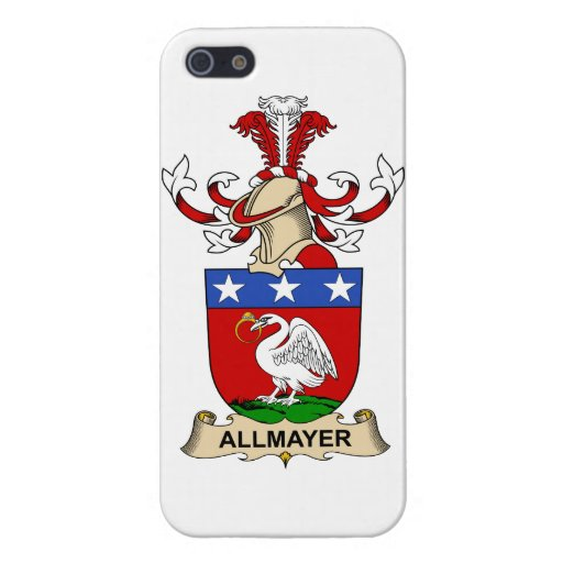 Escudos de la familia de Allmayer iPhone 5 Coberturas