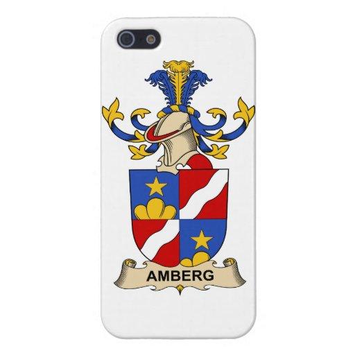 Escudos de la familia de Amberg iPhone 5 Carcasas