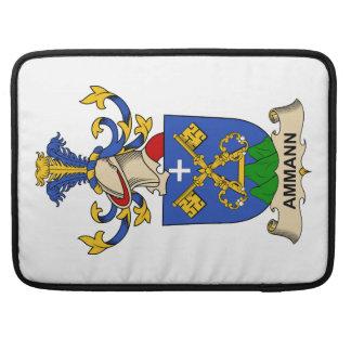 Escudos de la familia de Ammann Fundas Macbook Pro