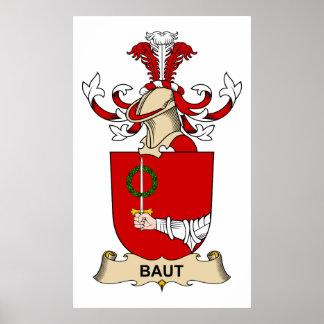 Escudos de la familia de Baut Poster