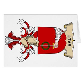 Escudos de la familia de Baut Tarjetón