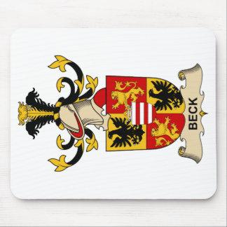 Escudos de la familia de Beck Alfombrillas De Raton