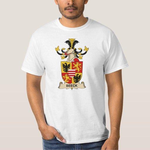 Escudos de la familia de Beeck Camisas