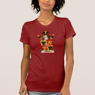Escudos de la familia de Beeck Camisetas