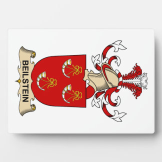 Escudos de la familia de Beilstein Placas Con Foto