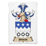 Escudos de la familia de Braun iPad Mini Cárcasa