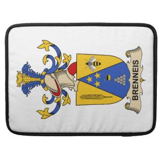 Escudos de la familia de Brenneis Fundas Macbook Pro