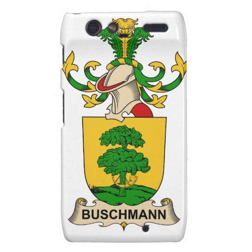 Escudos de la familia de Buschmann Motorola Droid RAZR Carcasas