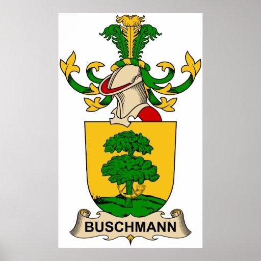 Escudos de la familia de Buschmann Impresiones