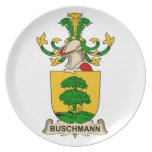 Escudos de la familia de Buschmann Plato