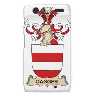 Escudos de la familia de la daga droid RAZR carcasa