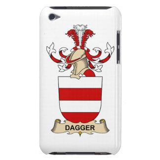 Escudos de la familia de la daga iPod touch protectores