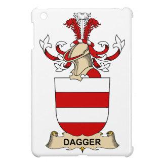 Escudos de la familia de la daga iPad mini carcasa