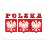 Escudos de Polska Eagle Postal