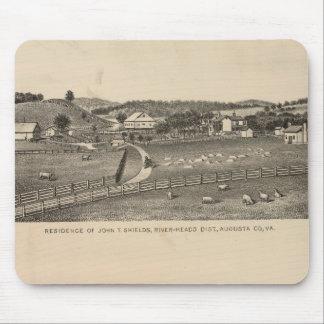 Escudos, residencias de Clemmer Mouse Pad