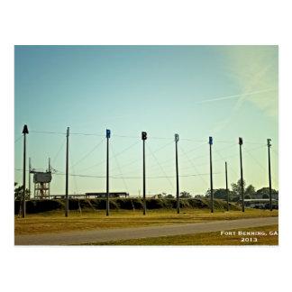 Escuela aerotransportada postales