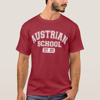 Escuela austríaca Est. 1871 Playera